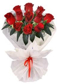 11 adet gül buketi  İstanbul Kadıköy internetten çiçek siparişi  kirmizi gül