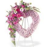 kalp içerisinde mevsim çiçekleri   İstanbul Kadıköy çiçek siparişi vermek