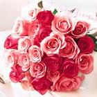 11 adet renkli gül buketi   İstanbul Kadıköy çiçek servisi , çiçekçi adresleri