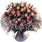 büyük cam fanusta güller   İstanbul Kadıköy çiçek yolla