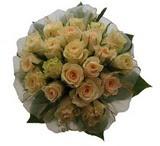 12 adet sari güllerden buket   İstanbul Kadıköy uluslararası çiçek gönderme