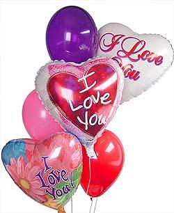 İstanbul Kadıköy internetten çiçek satışı  Sevdiklerinize 17 adet uçan balon demeti yollayin.