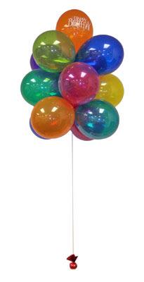 İstanbul Kadıköy çiçek gönderme  Sevdiklerinize 17 adet uçan balon demeti yollayin.