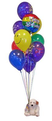 İstanbul Kadıköy çiçekçi telefonları  Sevdiklerinize 17 adet uçan balon demeti yollayin.