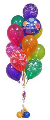 İstanbul Kadıköy çiçek satışı  Sevdiklerinize 17 adet uçan balon demeti yollayin.
