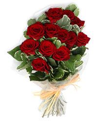 İstanbul Kadıköy çiçek yolla , çiçek gönder , çiçekçi   9 lu kirmizi gül buketi.