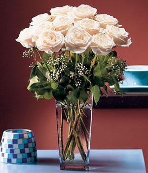 İstanbul Kadıköy hediye sevgilime hediye çiçek  Cam yada mika vazo içerisinde 12 gül