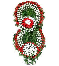 Görsel Cenaze çiçek , cenaze çiçek , çelengi  İstanbul Kadıköy uluslararası çiçek gönderme