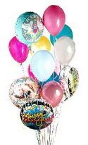 İstanbul Kadıköy online çiçek gönderme sipariş  görsel kaliteli 17 uçan balon buketi tanzimleri
