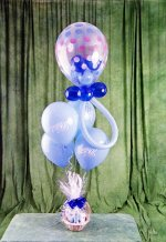 İstanbul Kadıköy online çiçek gönderme sipariş  15 adet uçan balon ve küçük kutuda çikolata