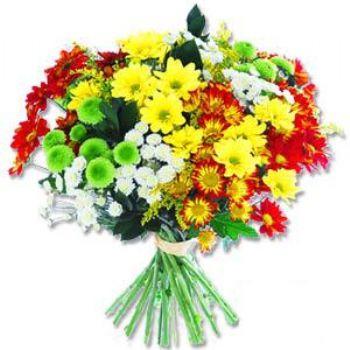 Kir çiçeklerinden buket modeli  İstanbul Kadıköy online çiçek gönderme sipariş