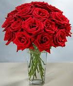 İstanbul Kadıköy çiçek siparişi sitesi  Sevdiklerinize özel ürün 12 adet cam içerisinde kirmizi gül  İstanbul Kadıköy hediye çiçek yolla