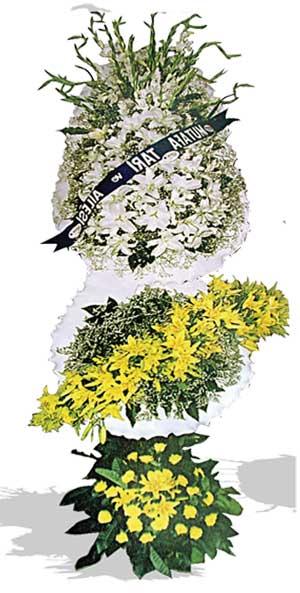 Dügün nikah açilis çiçekleri sepet modeli  İstanbul Kadıköy çiçek , çiçekçi , çiçekçilik