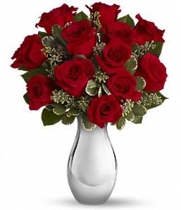 İstanbul Kadıköy çiçek siparişi vermek   vazo içerisinde 11 adet kırmızı gül tanzimi
