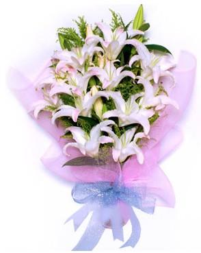 5 dal kazablankadan muhteşem buket  İstanbul Kadıköy hediye çiçek yolla