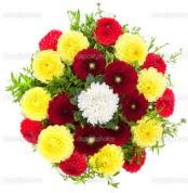 İstanbul Kadıköy çiçekçi mağazası  13 adet mevsim çiçeğinden görsel buket