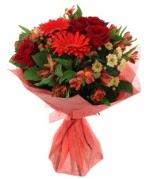 karışık mevsim buketi  İstanbul Kadıköy internetten çiçek siparişi