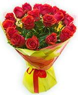 19 Adet kırmızı gül buketi  İstanbul Kadıköy çiçek siparişi vermek