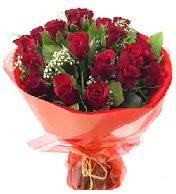 12 adet görsel bir buket tanzimi  İstanbul Kadıköy çiçek siparişi vermek