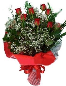 7 kırmızı gül buketi  İstanbul Kadıköy çiçek servisi , çiçekçi adresleri