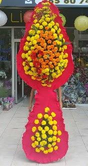 Çift katlı düğün nikah açılış çiçeği  İstanbul Kadıköy çiçek mağazası , çiçekçi adresleri