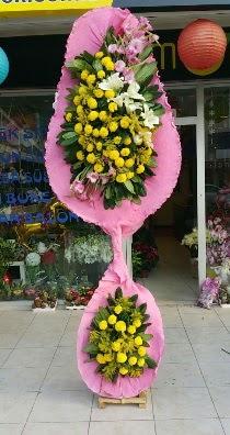 Çift katlı düğün açılış çiçeği  İstanbul Kadıköy çiçek servisi , çiçekçi adresleri