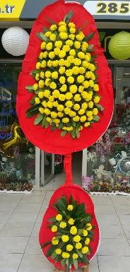 Çift katlı düğün nikah açılış çiçeği  İstanbul Kadıköy internetten çiçek siparişi