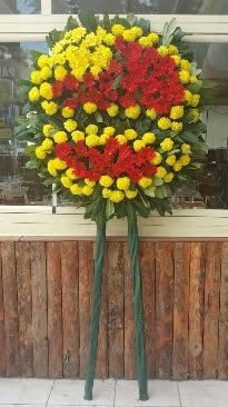 Cenaze çelengi çiçek modeli  İstanbul Kadıköy çiçek mağazası , çiçekçi adresleri