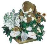 İstanbul Kadıköy uluslararası çiçek gönderme  Gerbera antoryum aranjmani