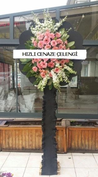 Hızlı cenaze çiçeği çelengi  İstanbul Kadıköy çiçek yolla