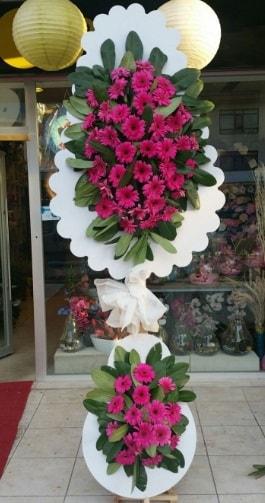 Çift katlı nikah çiçek düğün çiçekleri  İstanbul Kadıköy ucuz çiçek gönder