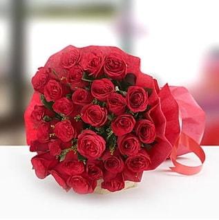 41adet kırmızı gül buket  İstanbul Kadıköy çiçek , çiçekçi , çiçekçilik