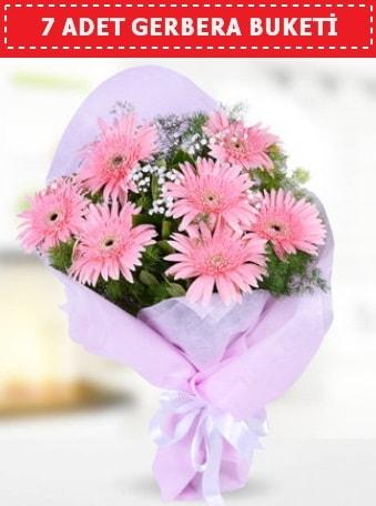 Pembe Gerbera Buketi  İstanbul Kadıköy çiçek , çiçekçi , çiçekçilik