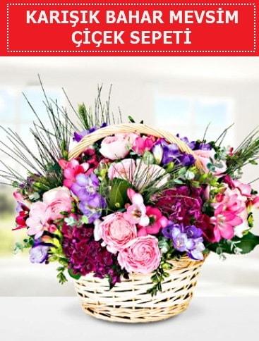Karışık mevsim bahar çiçekleri  İstanbul Kadıköy ucuz çiçek gönder